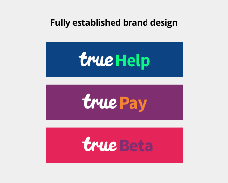 full established brand design
